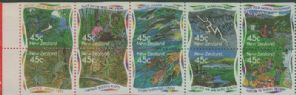 NZ SG1865a Environment booklet pane